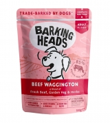 Barking Heads паучи для собак с говядиной и бурым рисом